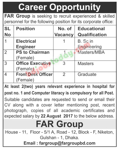 FAR Group jobs