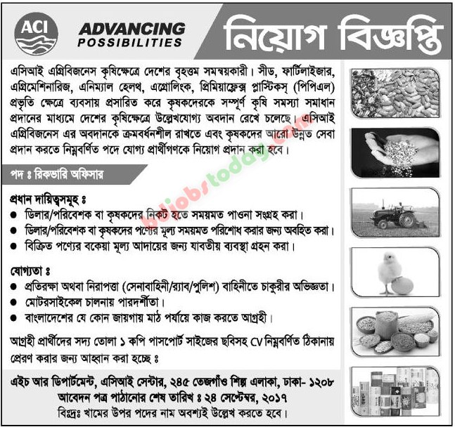 ACI Agribusiness jobs