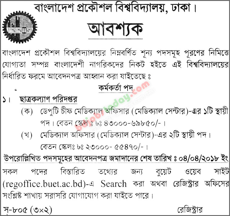 Deputy Chief Medical Officer Job Bangladesh : Mobile Version
