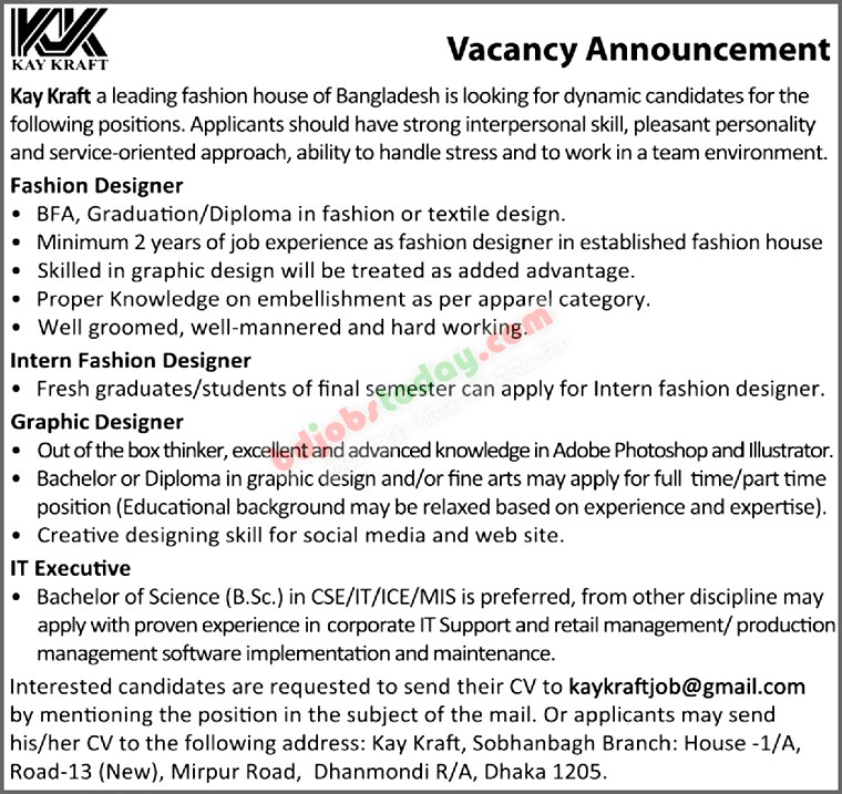Graphic Designer Job Bangladesh Mobile Version
