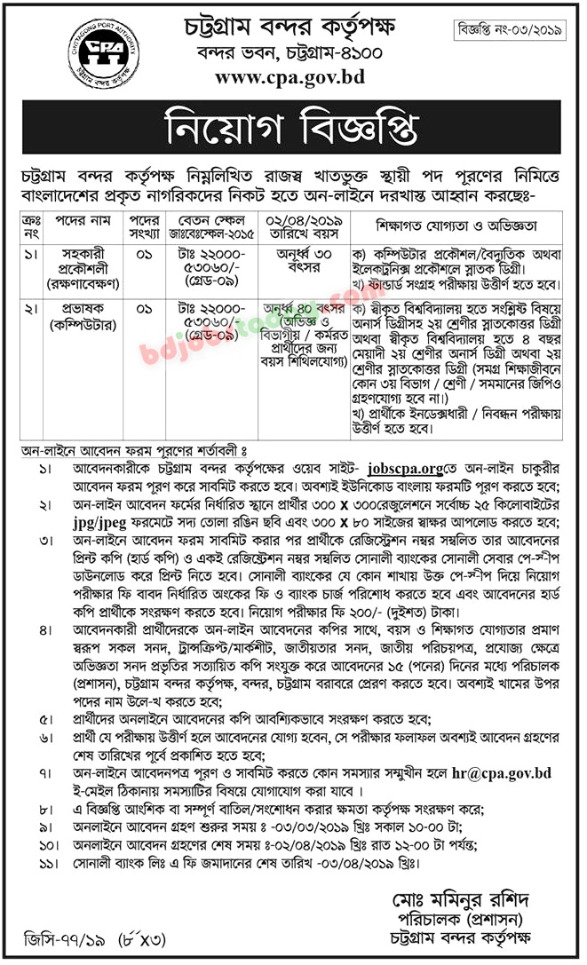 Assistant Engineer (Maintenance) Job Bangladesh : Mobile Version