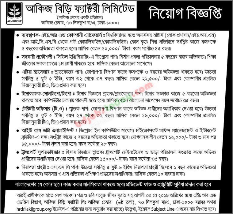 IT cum Data Analyst Job Bangladesh : Mobile Version